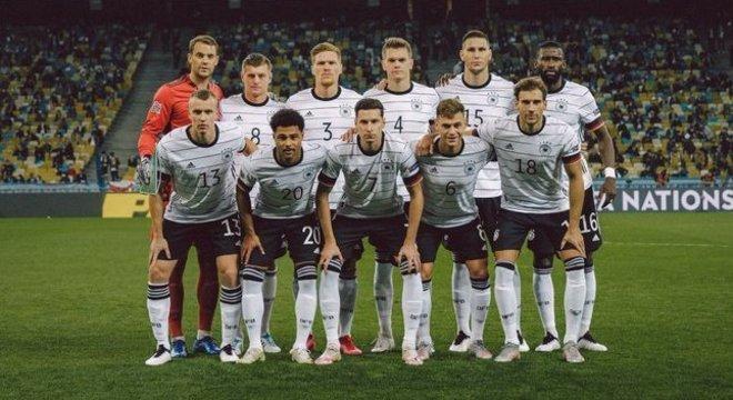 A Alemanha que bateu a Ucrânia por 2 X 1