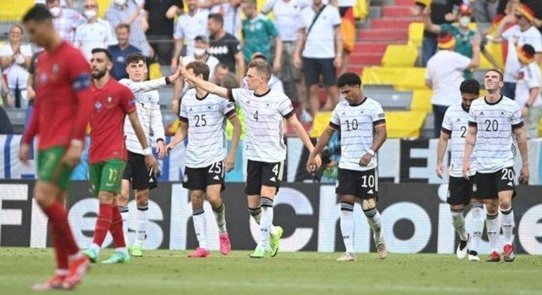 Alegria da Alemanha e tristeza de Portugal, 4 X 2 em Munique