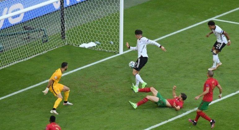 Alemanha, o gol de Havertz