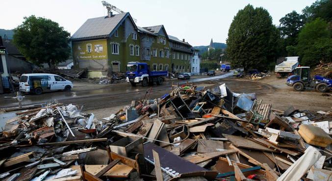 Chuvas na Alemanha deixaram quase 200 mortos