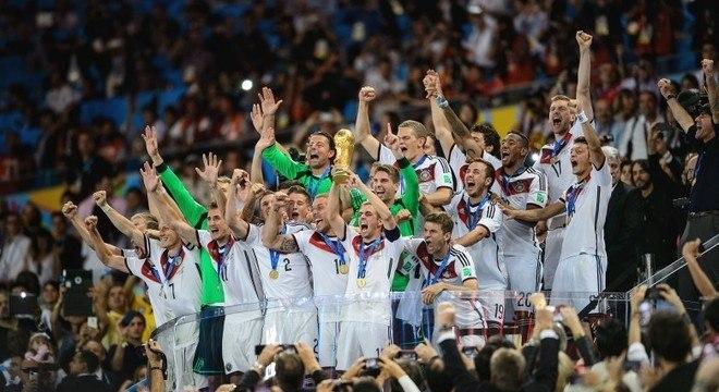 Alemanha precisa driblar maldição do ranking se quiser penta na Rússia 2018