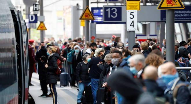 Alemanha está instaurando medidas de restrição em alguns distritos