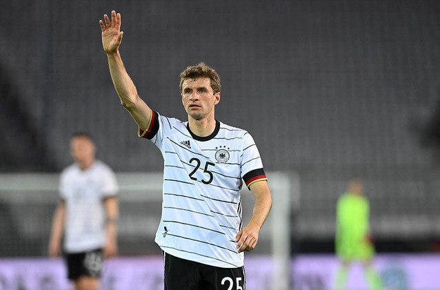 Alemanha: Thomas Müller (Bayern de Munique). Temporada 2020/21: 48 jogos e 16 gols
