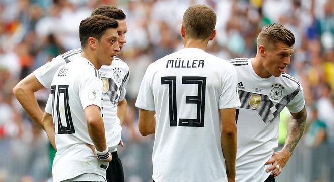 Cinco estrelas  Alemanha precisa mostrar mais para penta nesta Copa ... 51190a16dee8a
