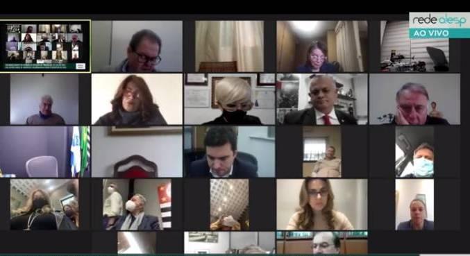 Deputados paulistas participam de sessão virtual para votação da LDO de 2022