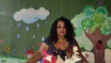 Preta e pobre, ela criou área infantil para ajudar mães da periferia