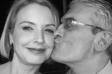 Alessandra Scatena homenageou o marido