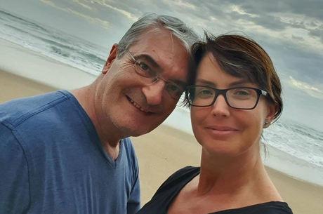 Alessandra e Rogério eram casados há 23 anos