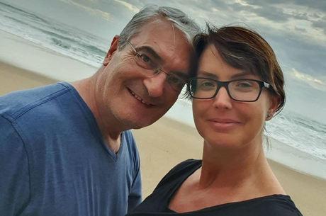 Rogério e Alessandra estavam casados há 23 anos