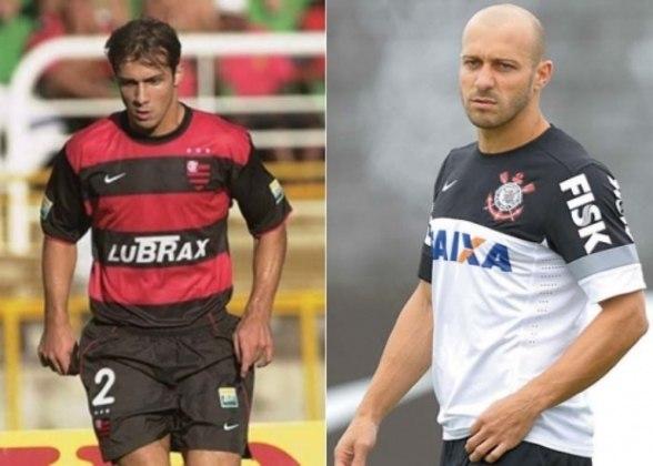 Alessandro - Lateral-direito titular do Flamengo no início do século XXI, encerrou a carreira em 2013 pelo Corinthians. Hoje, aos 42 anos, atua como gerente de futebol do clube paulista.