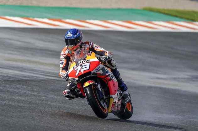 Álex Márquez alinha em 14º