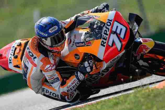 Álex Márquez amargou a última posição do grid