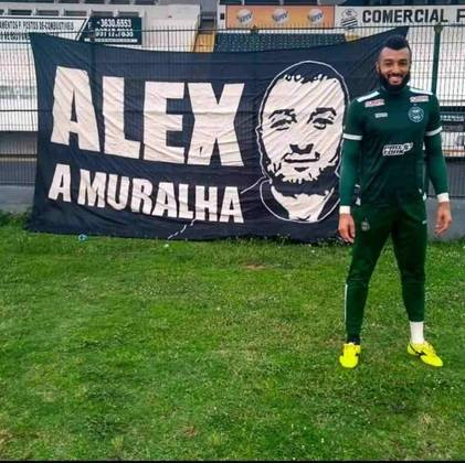 Alex Muralha - Emprestado ao Coritiba.