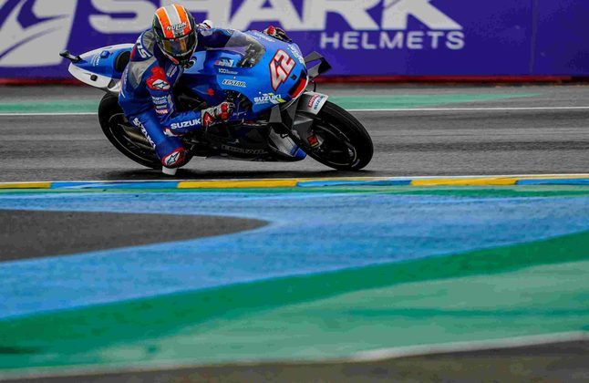 Álex Rins foi discreto em Le Mans: 14º