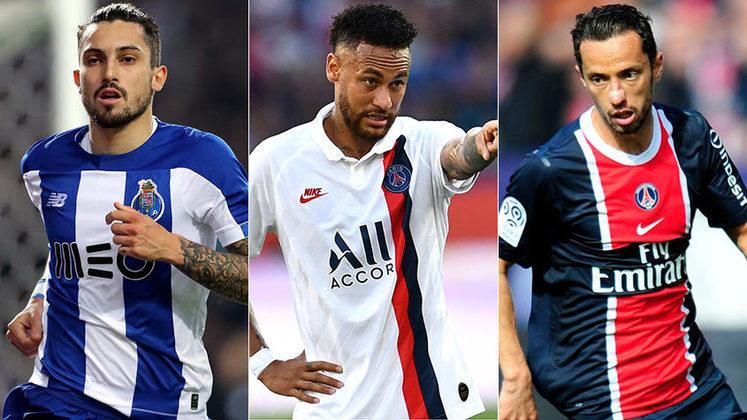 Alex Telles deve ser o novo jogador do Porto. O lateral deve se juntar ao clube francês e seguir o exemplo de diversos jogadores brasileiros que vestiram a camisa da equipe parisiense. Confira a seguir um pouco da passagem de alguns atletas segundo dados do 'Transfermarkt'.