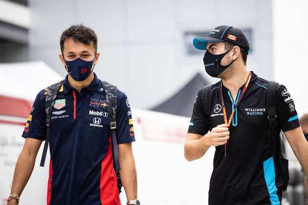 Alexander Albon e Nicholas Latifi chegam ao autódromo de Sóchi neste sábado. Qual o assunto?
