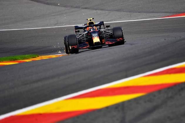 Alexander Albon foi apenas 0s3 mais lento que o companheiro de equipe Max Verstappen, o mais rápido do di