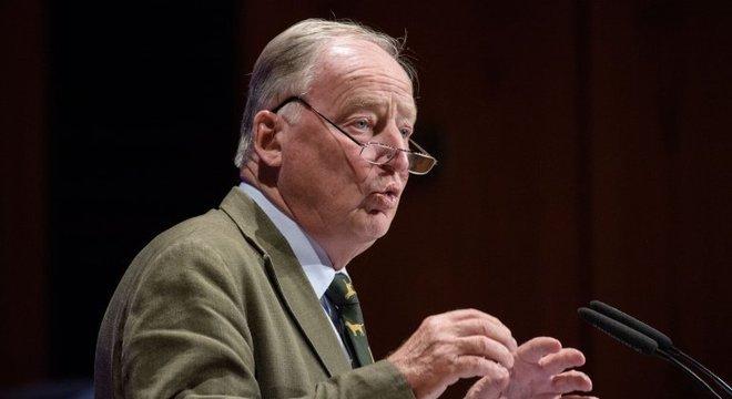 O líder do partido Alternativa para a Alemanha (AfD), Alexander Gauland, minimiza o nazismo