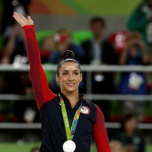 Aly tem três medalhas de ouro
