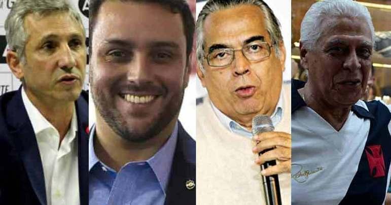 Alexandre Campello, Julio Brant, Eurico Miranda e Roberto Dinamite são personagens do Vasco que se envolveram em diferentes rivalidades ao longo do tempo. Mas não são os únicos. Confira!