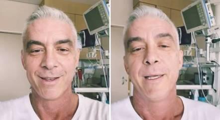 Alexandre Correa luta contra um câncer no pescoço