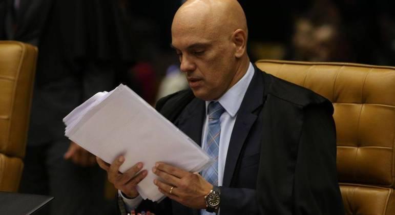Alexandre de Moraes tem pedido de impeachment feito por Bolsonaro