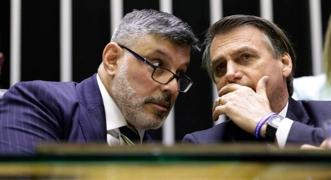 Alexandre Frota e Jair Bolsonaro vivem relação de altos e baixos