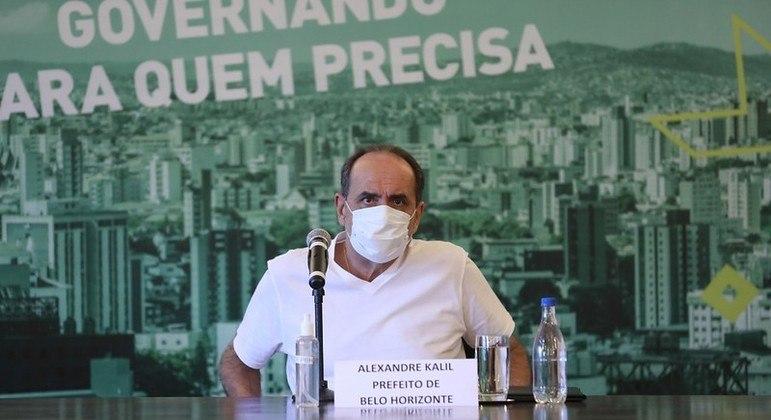 Prefeito Alexandre Kalil convocou coletiva de imprensa para esta segunda-feira (19)