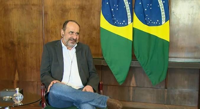 Prefeito recebeu a equipe da RecordTV Minas na sede do Executivo municipal