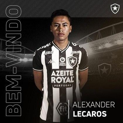 ALEXANDRE LECAROS atuou em duas partidas. Passou em branco até o momento.