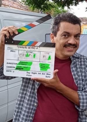 Alexandre Lino filma curta e prepara entrada em Gênesis