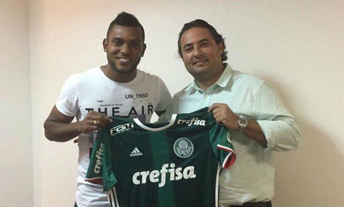 Mattos contratou Borja. Jogador mais caro da história do Palmeiras. Fracasso absoluto