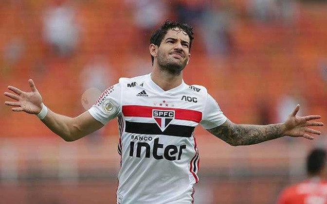 Alexandre Pato: 31 anos, atacante, valor de 3,5 milhões de euros (cerca de R$ 22 milhões). Sem clube, o último foi o São Paulo (até agosto de 2020).