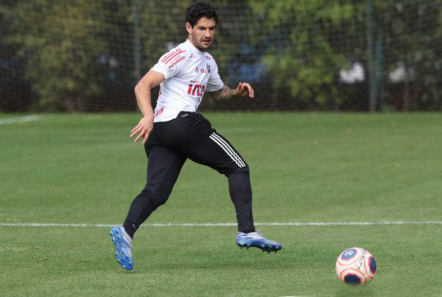 Alexandre Pato era o centroavante titular do São Paulo até a pausa das competições.