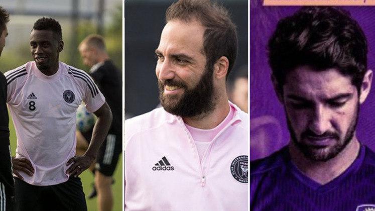 Alexandre Pato, Higuaín, Matuidi... A Liga Norte-Americana de futebol tem quase 55% dos seus atletas estrangeiros, e atualmente, reúne vários jogadores consagrados no mundo da bola. Listamos 12 nomes de grife que atuam hoje na MLS.