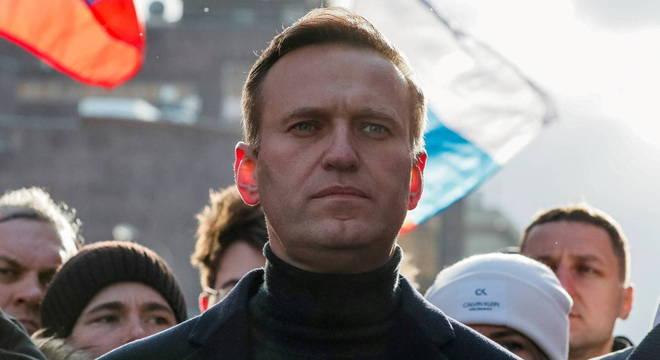 Líder da oposição na Rússia, Alexei Navalny