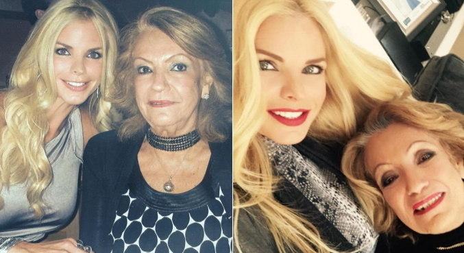 Alexia Echevarri lamentou a perda da mãe no dia de seu casamento