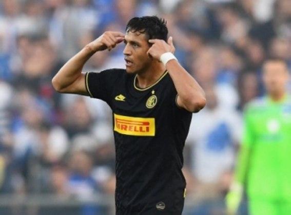 Alexis Sánchez chegou por empréstimo do Manchester United. Na Inter de Milão, não repetiu o bom desempenho do Arsenal e deve retornar a Inglaterra