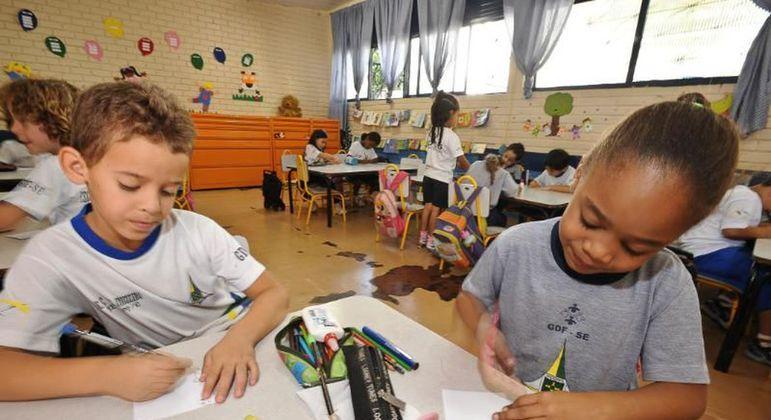Crianças em fase de alfabetização foram impactadas pela pandemia