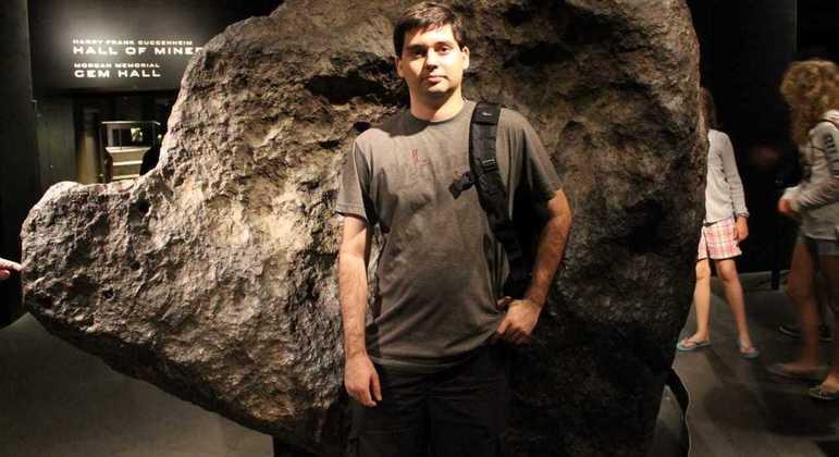 Alfredo desenvolveu o software que detectou as novas chuvas de meteoros
