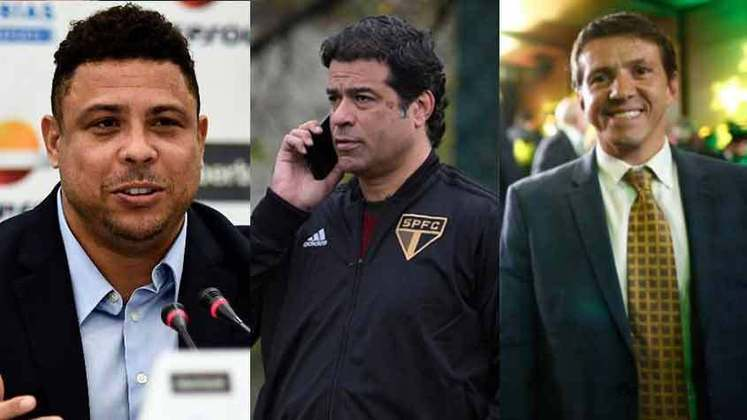 Alguns clubes têm em suas diretorias ex-jogadores em cargos importantes do futebol. Ronaldo, Raí, Juninho Paulista e agora Christian, são alguns ex-boleiros que viraram executivos. Veja os jogadores que tentam fazer sua parte fora do campo atualmente: