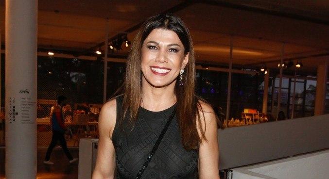 Alicinha Cavalcanti em uma das últimas aparições públicas, em 2015