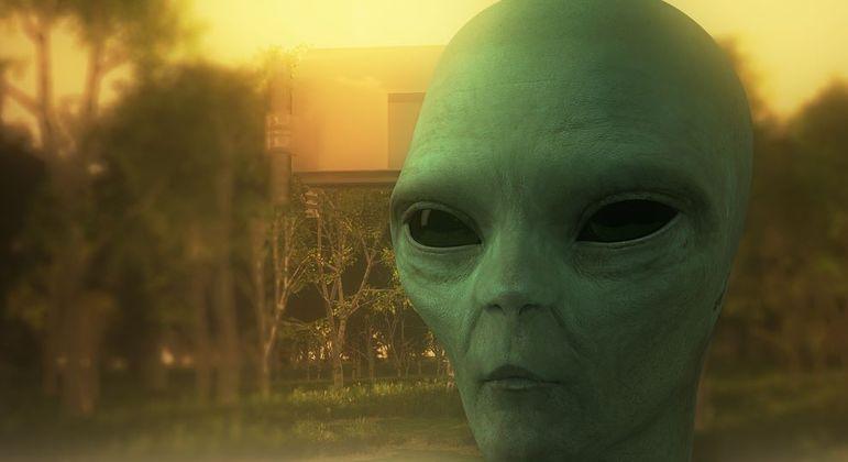 Os aliens não entenderam nada