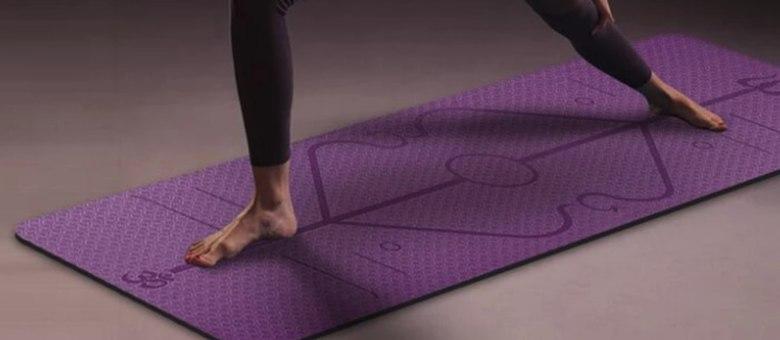 Tapete de ioga