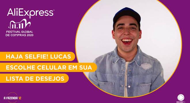 Veja os produtos da wishlist de Lucas na AliExpress