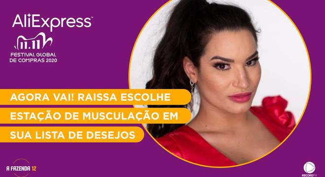 Veja os produtos da wishlist de Raissa Barbosa na AliExpress