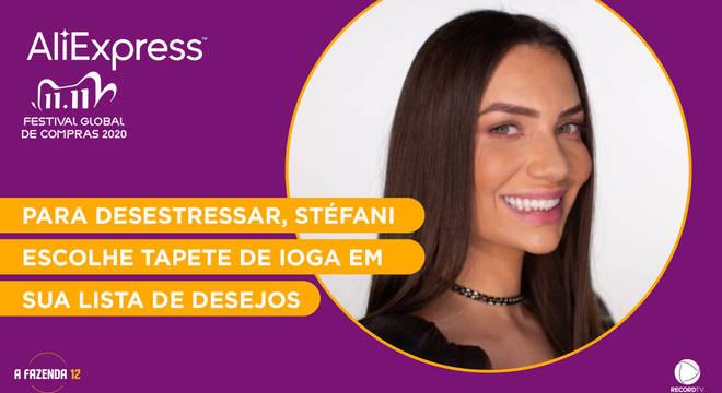 Veja os produtos da wishlist de Stéfani Bays na AliExpress