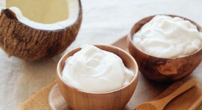 Alimento com coco
