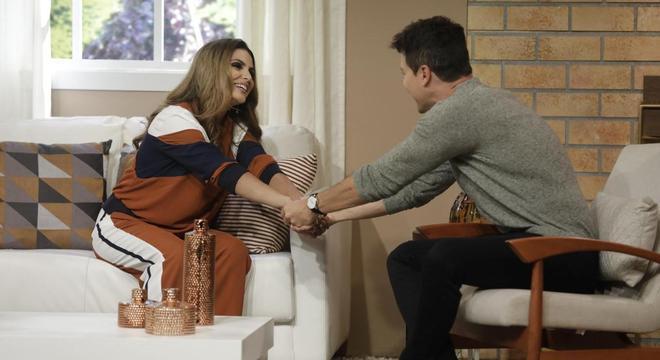 Aline Barros vai ajudar Rodrigo Faro em quadro especial