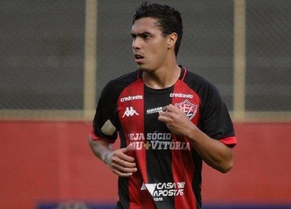 Alisson Farias (Vitória - Meia) - 25 anos - contrato até dezembro de 2021